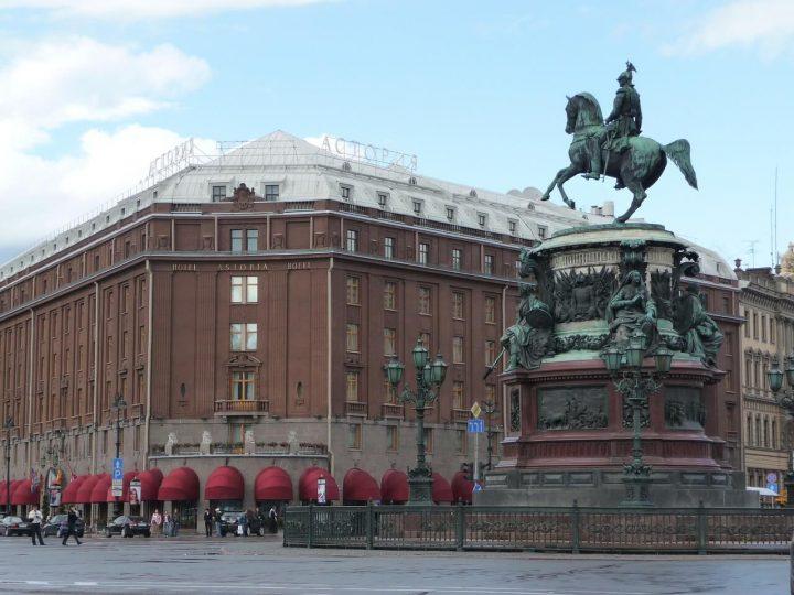 ホテル・アストリア|サンクトペテルブルク歴史地区と関連建造物群