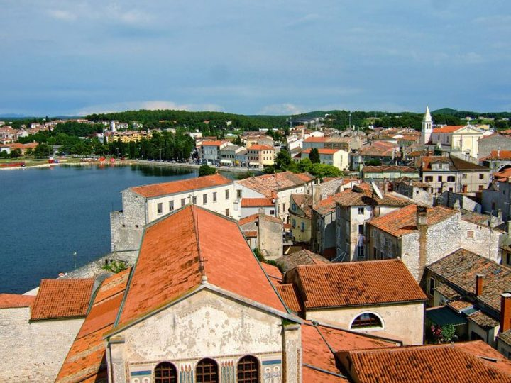 photo credit: A view over Poreč from the bell tower of Euphrasian Basilica via photopin (license)