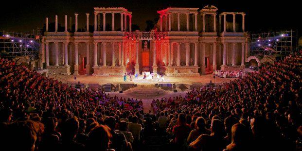 【世界遺産】ローマ劇場|メリダの考古遺跡群