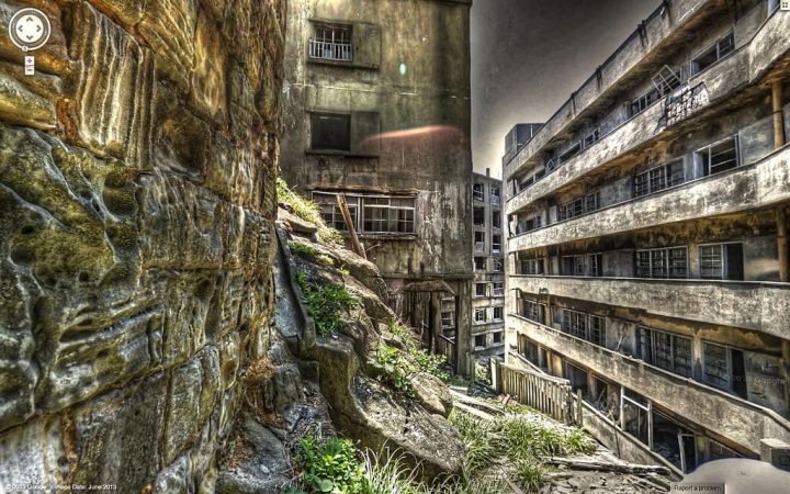 photo credit: Google Street View - Hashima Island via photopin (license)