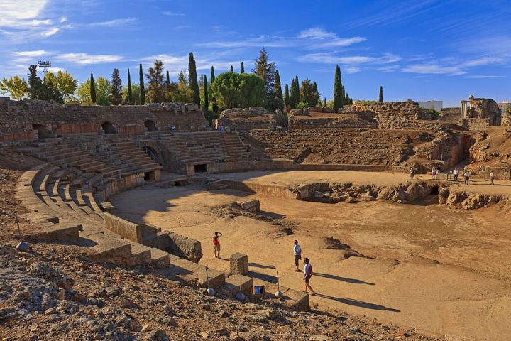 photo credit: Mérida. Roman Amphitheater. Badajoz. Extremadura. Spain via photopin (license)