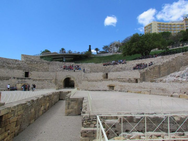 円形競技場|タラゴナの考古遺産群 |世界遺産オンラインガイド