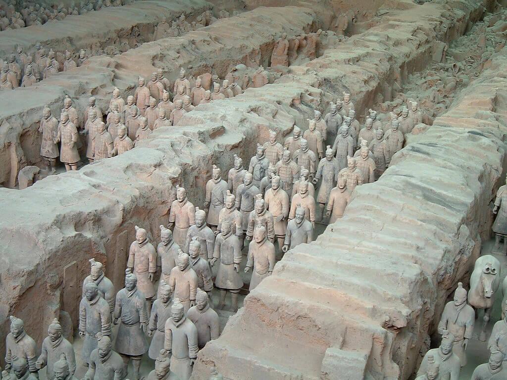 秦始皇帝陵及び兵馬俑坑の画像 p1_39