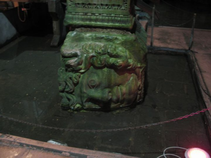 photo credit: Medusa's Head Column at the Basilica Cistern via photopin (license)