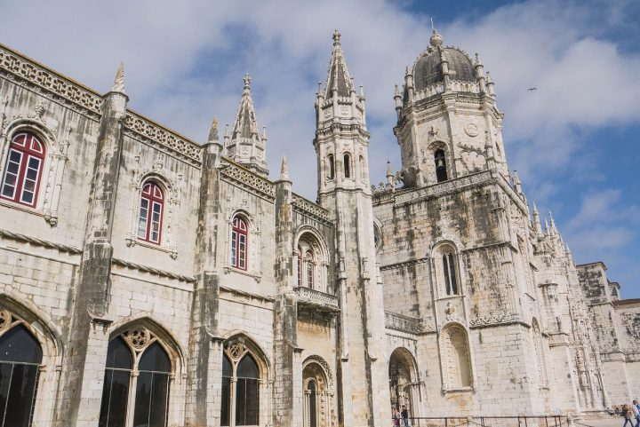 【世界遺産】リスボンのジェロニモス修道院とベレンの塔