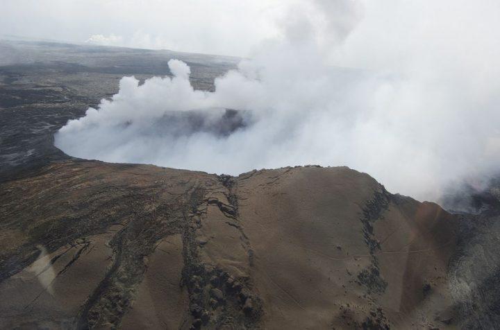 photo credit: Puʻu ʻŌʻō Cone, Kīlauea Volcano via photopin (license)