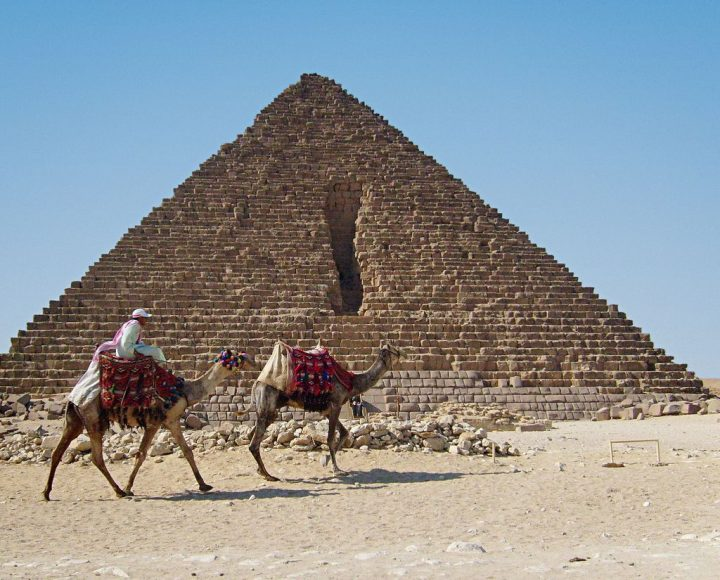 メンカウラー王のピラミッド