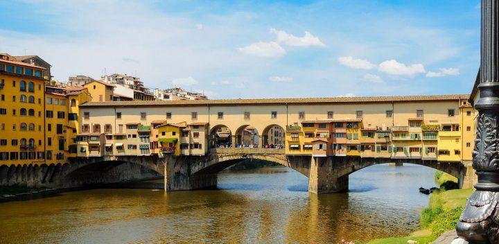 ヴェッキオ橋(ポンテ・ヴェッキオ)|フィレンツェ歴史地区 (3)