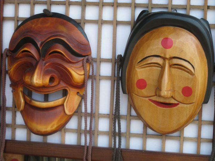 photo credit: famous andong traditional masks via photopin (license)