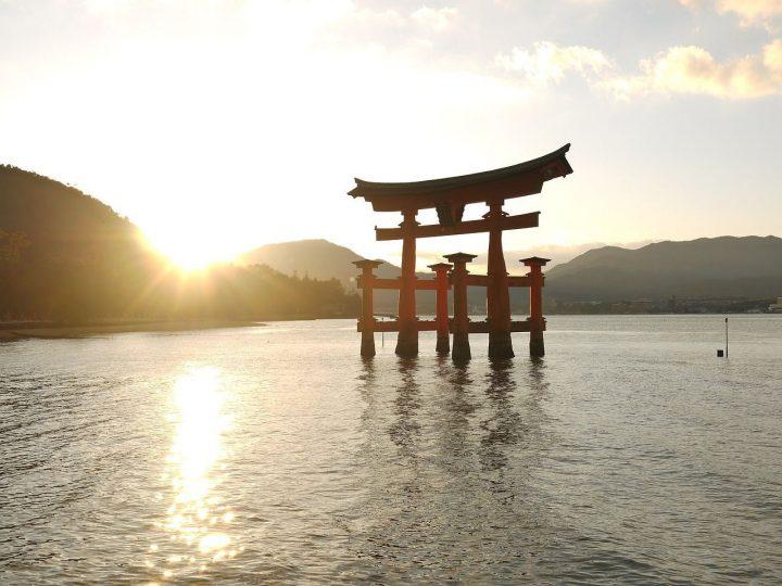 大鳥居|厳島神社 (1)