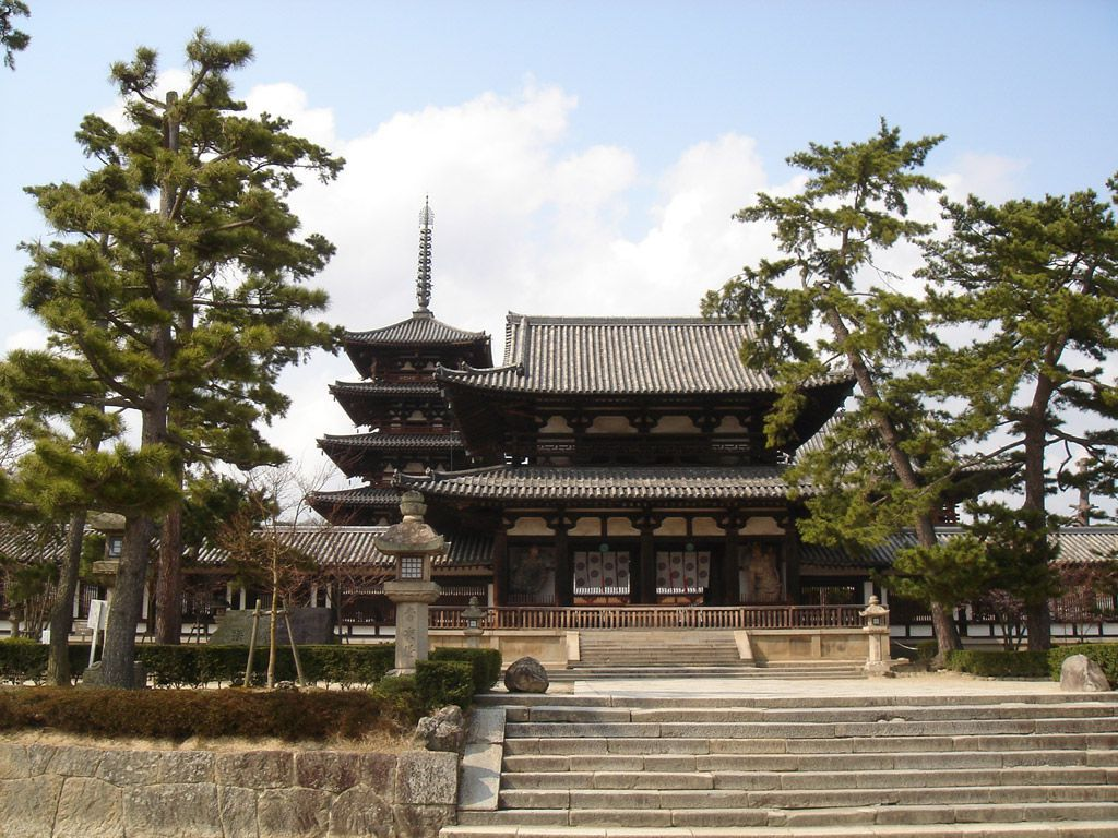 法隆寺|法隆寺地域の仏教建造物...