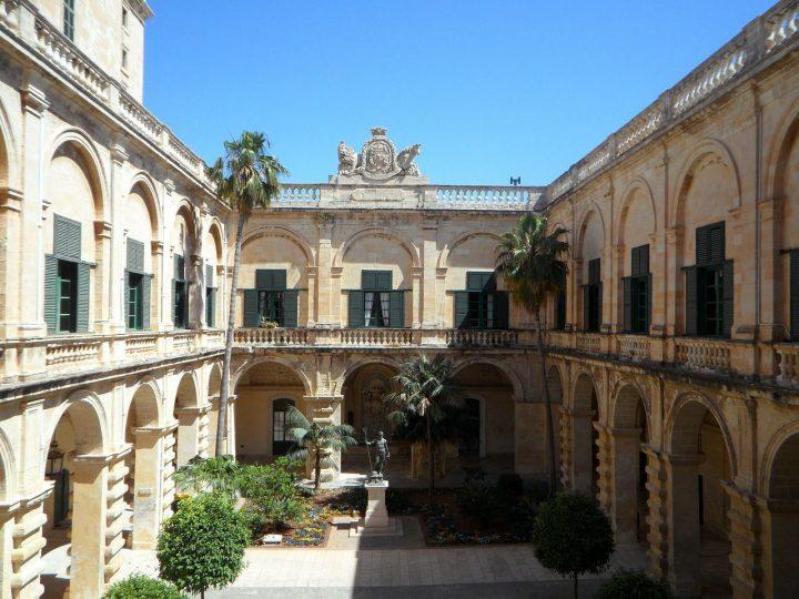 騎士団長の宮殿|ヴァレッタ市街