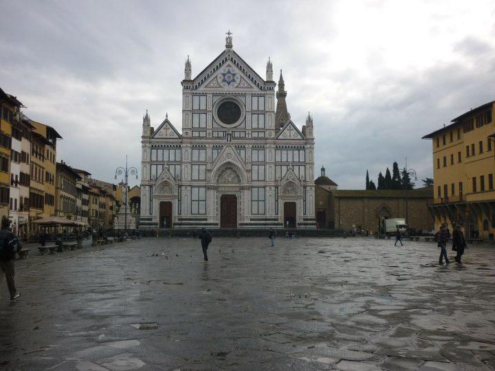 サンタ・クローチェ聖堂|フィレンツェ歴史地区 (1)