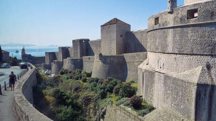 ドゥブロヴニクの城壁|ドゥブロヴニク旧市街 (2)