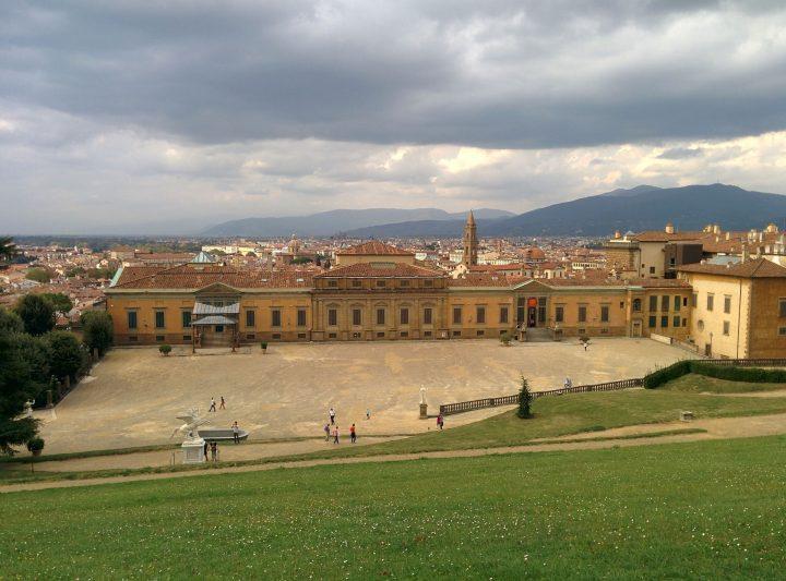 ピッティ宮殿|フィレンツェ歴史地区