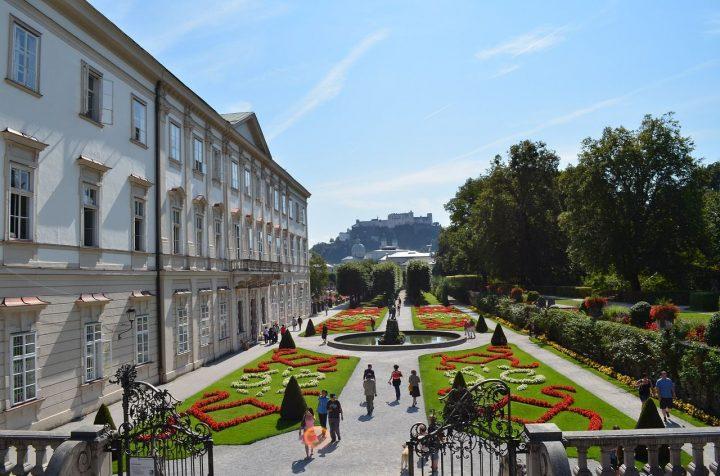 ミラベル宮殿|ザルツブルク市街の歴史地区 庭園