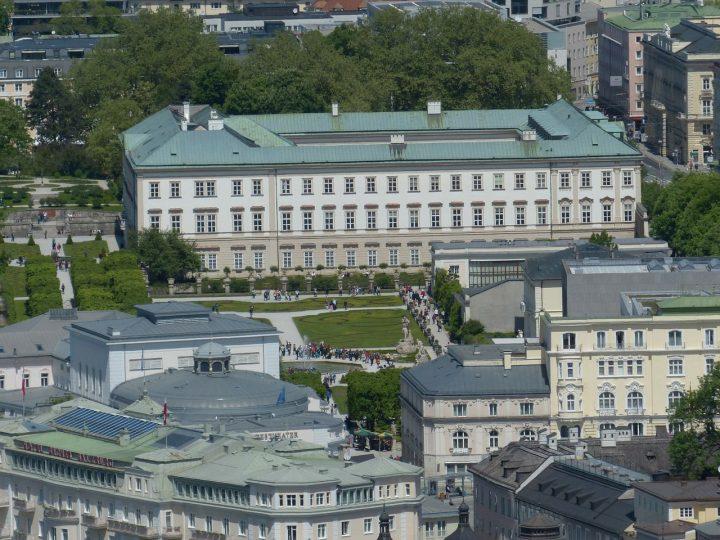 ミラベル宮殿|ザルツブルク市街の歴史地区