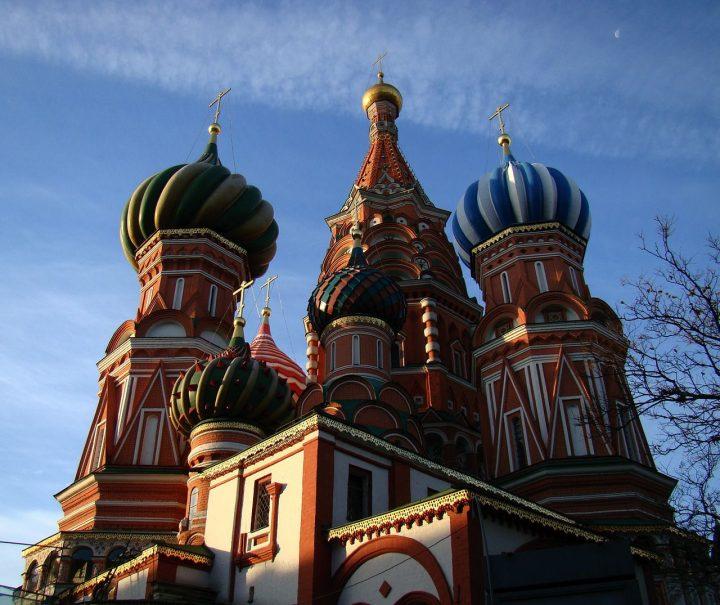 【世界遺産】聖ワシリイ大聖堂|モスクワのクレムリンと赤の広場