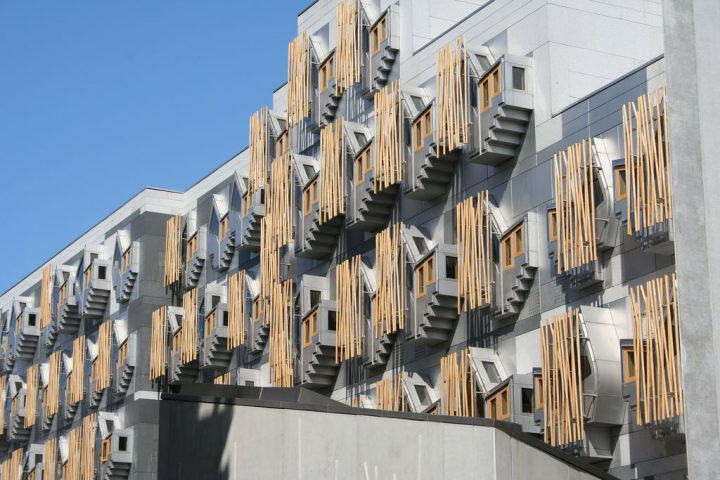 photo credit: Scottish Parliament - Rear View via photopin (license)