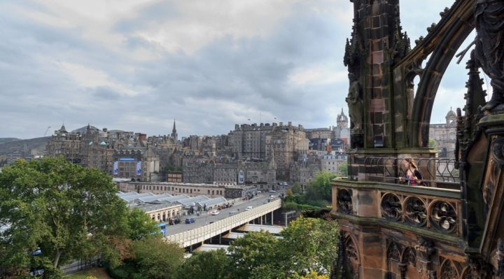photo credit: Old Town from Scott Monument via photopin (license)