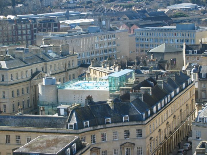 photo credit: Thermae Spa from Bath Abbey Tower via photopin (license)