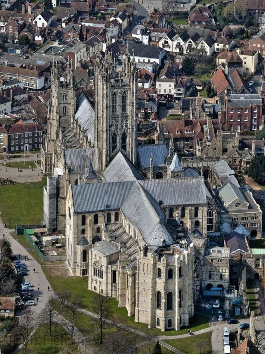 photo credit: Canterbury Cathedral Aerial via photopin (license)