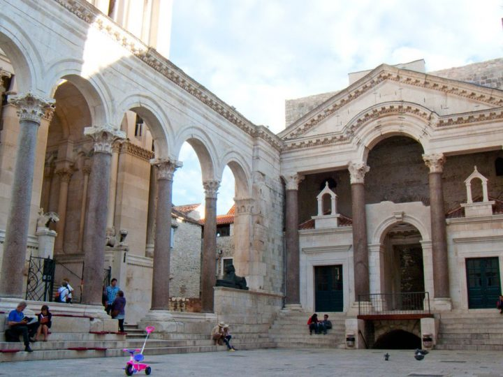 photo credit: Roman Peristyle, & front of the Cathedral of Saint Domnius in Split, Croatia via photopin (license)