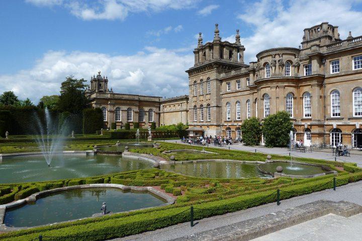 ブレナム宮殿庭園|ブレナム宮殿