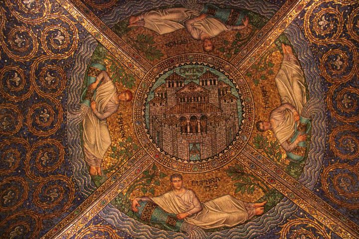 photo credit: The Prussians added the marvelous mosaics in the Byzantine style after taking control of Aachen in the 19th century. The style also reminds of the early Christian monuments in Ravenna, Italy. via photopin (license)