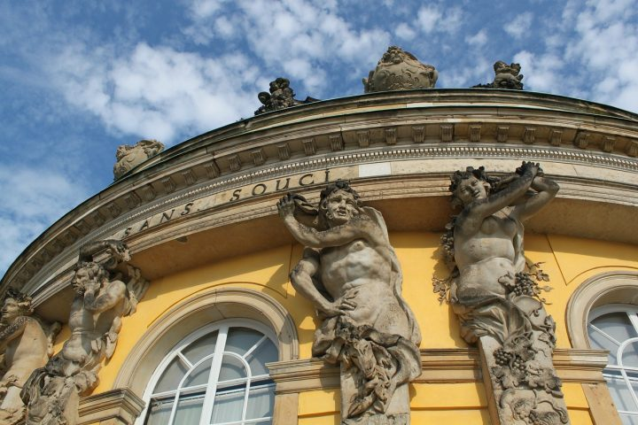【世界遺産】サンスーシ宮殿|ポツダムとベルリンの宮殿群と公園群