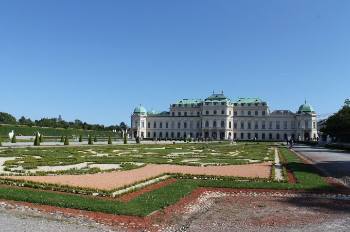 ベルヴェデーレ宮殿|ウィーン歴史地区 (2)