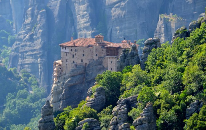 photo credit: Monastery of Rousanou, mid-16th cnt., Meteora (5) via photopin (license)