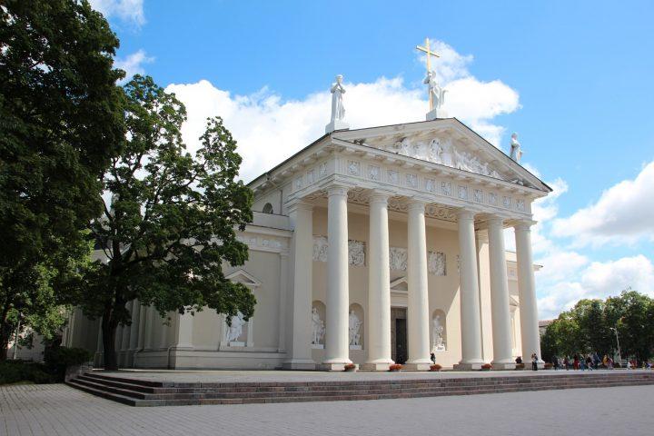 【世界遺産】ヴィリニュス大聖堂|ヴィリニュス歴史地区