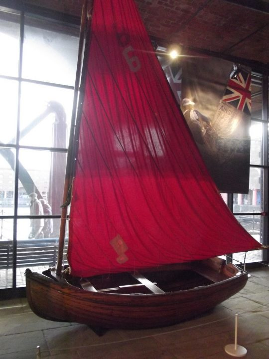 photo credit: Merseyside Maritime Museum - Albert Dock, Liverpool - boat - Spindrift via photopin (license)