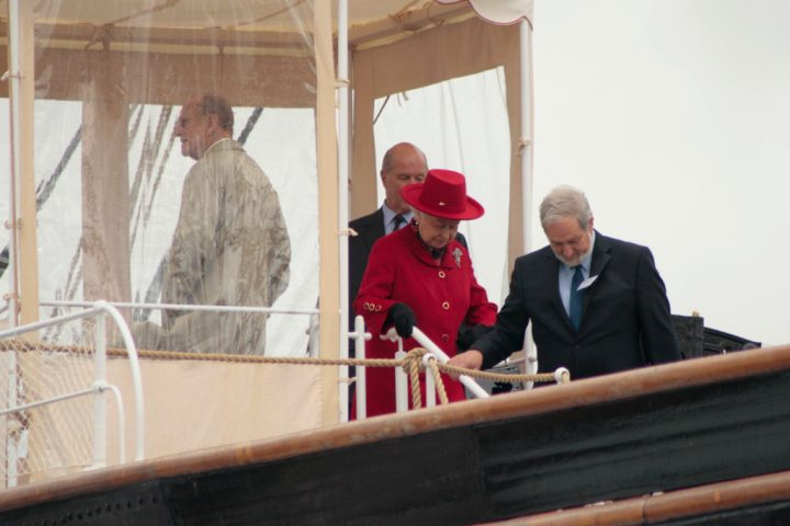 photo credit: Queen aboard the Cutty Sark via photopin (license)