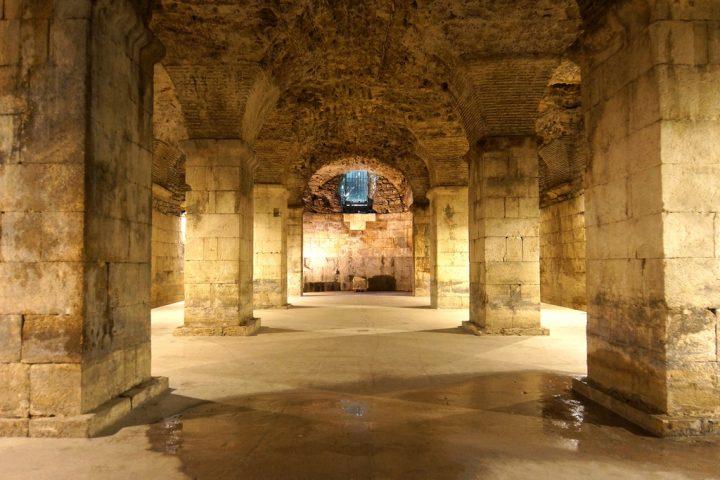 【世界遺産】ディオクレティアヌス宮殿があるスプリトの歴史的建造物群
