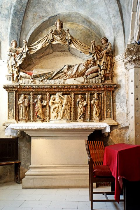 photo credit: Croatia-01245 - Altar of St Anastasius (1448) via photopin (license)