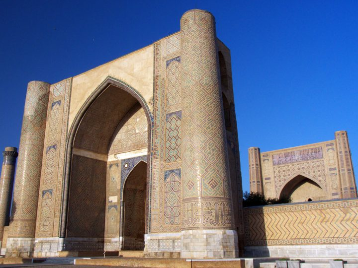 photo credit: Bibi Khanum Mosque, Samarkand via photopin (license)
