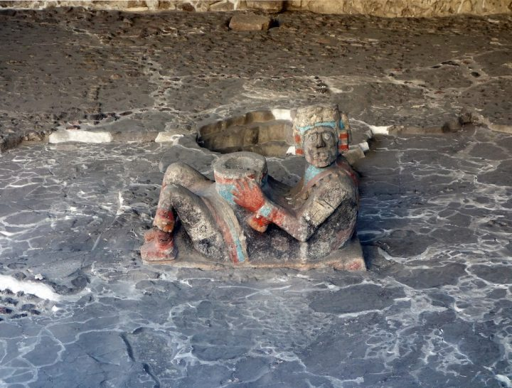 photo credit: Chacmool, Tlaloc Temple platform, Templo Mayor via photopin (license)