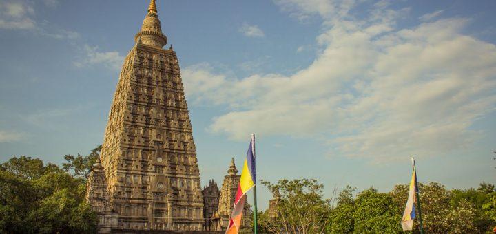 ブッダガヤの大菩提寺(マハーボーディー寺院)