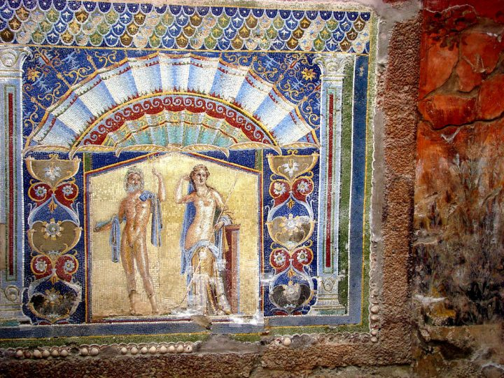photo credit: Wall mosaic in Herculaneum 10 via photopin (license)