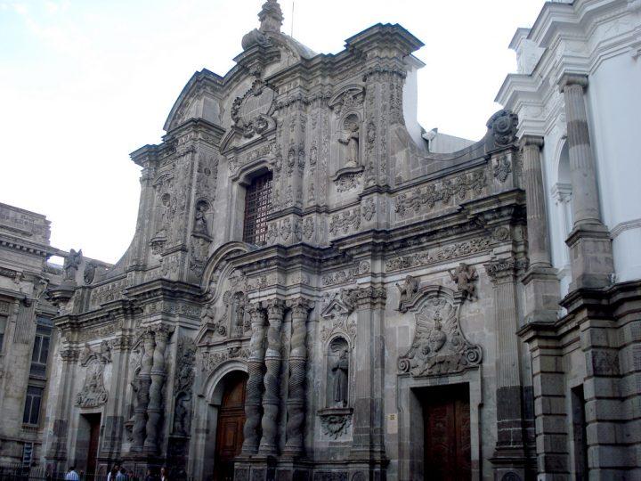 ラ・コンパニーア聖堂|キトの市街
