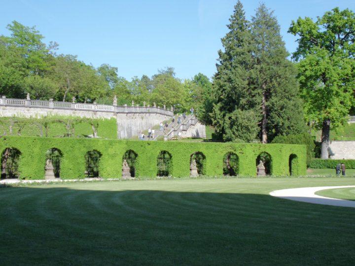 【世界遺産】ホーフ庭園とホーフ教会|ヴュルツブルク司教館、その庭園群と広場
