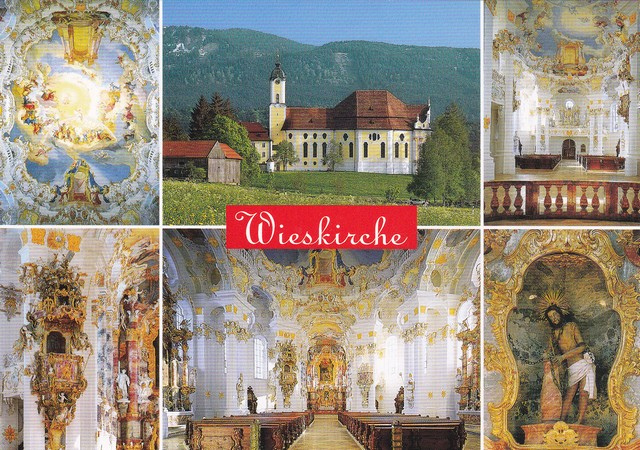 photo credit: Wieskirche - 2012 Postcard (The Pilgrimage Church of Wies) via photopin (license)