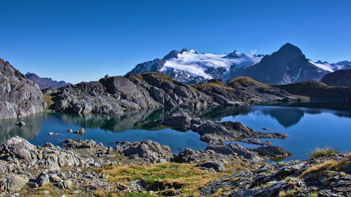 photo credit: Small lake and Park Pass Glacier via photopin (license)