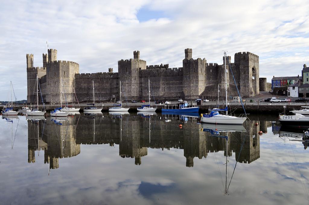 グウィネズのエドワード1世の城郭と市壁の画像 p1_12