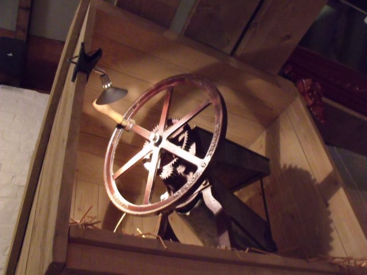 photo credit: Inside the Museum of the Gorge - wheel via photopin (license)