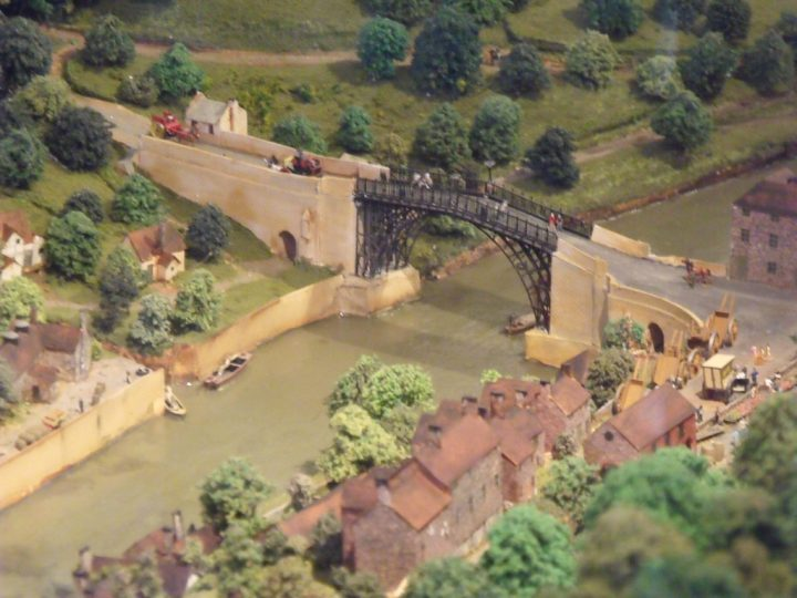 photo credit: Inside the Museum of the Gorge - model of the Iron Bridge via photopin (license)