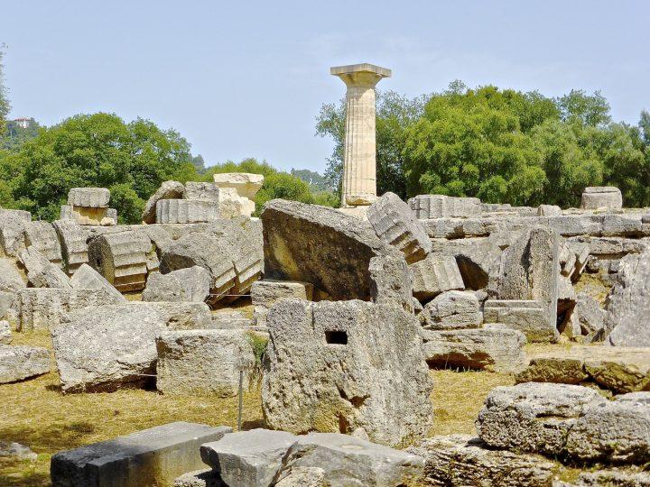 オリンピアの考古遺跡
