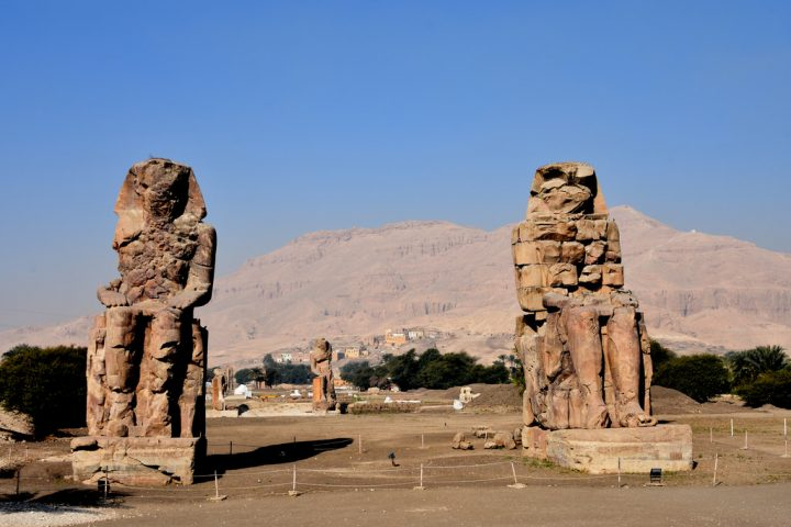 photo credit: Memorial Temple of Amenhotep III (1) via photopin (license)